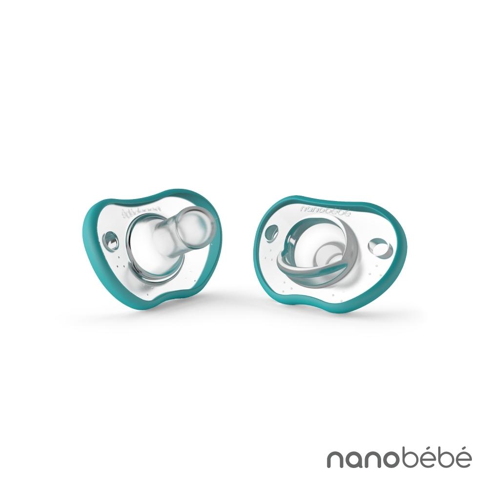 nanobebe 全矽膠安撫奶嘴 2入