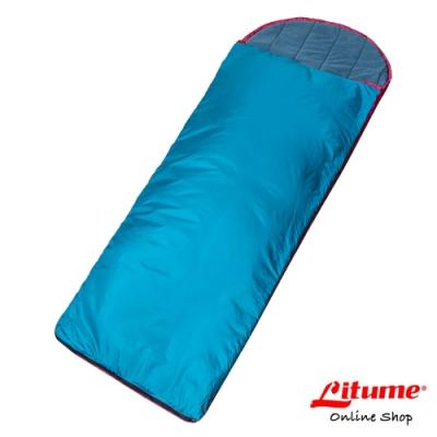 【Litume】科技棉睡袋『藍綠』C062