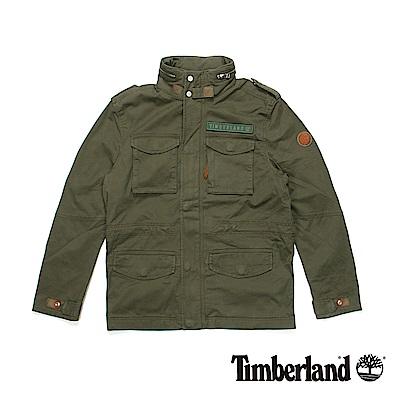 Timberland 男款橄欖綠Mountain M65夾克