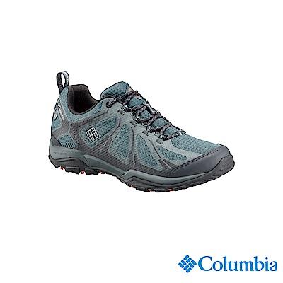 Columbia 哥倫比亞 女款-OD防水健走鞋-墨藍 UBL17620IB
