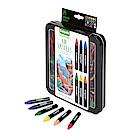 美國Crayola 繪兒樂 水溶性油蠟筆精裝組24色(9Y+)