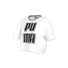 PUMA 女 基本系列短袖T恤 白黑灰