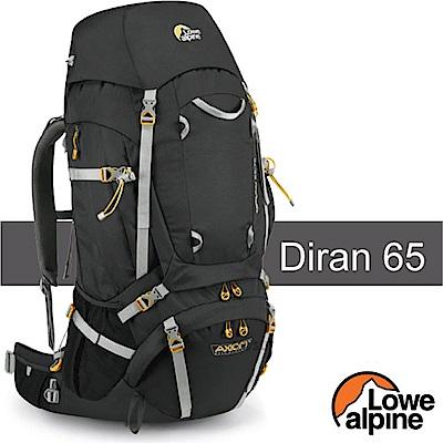 英國 LOWE ALPINE 新款 Diran 65-75 輕量登山健行背包_煤炭黑