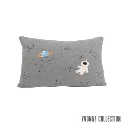 Yvonne Collection 星空漫遊抱枕(30x45cm)-暗灰