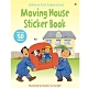 Moving House Sticker Book 故事貼紙書:搬家囉! product thumbnail 1