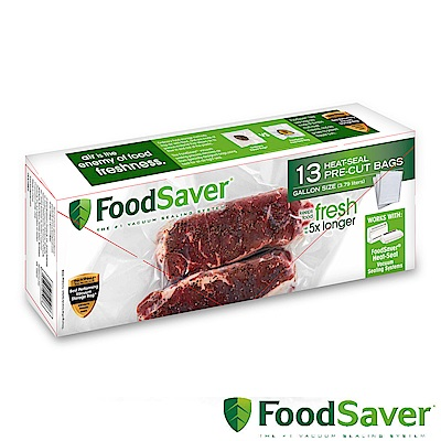 美國FoodSaver-真空袋13入裝(3.79L)