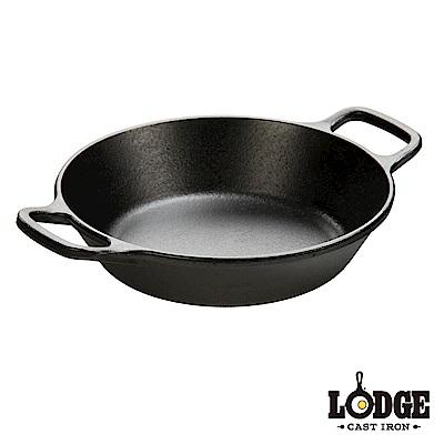 Lodge 雙耳鑄鐵圓弧煎鍋 8吋/20公分