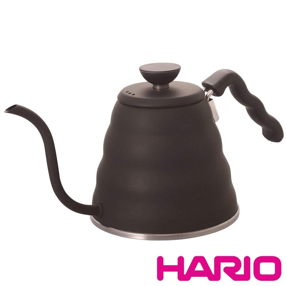 HARIO 雲朵不鏽鋼霧黑細口壺 1200ml / VKB-120-MB