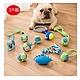 寵愛有家-狗狗磨牙解悶耐咬棉繩球玩具3入組(寵物潔牙玩具) product thumbnail 1