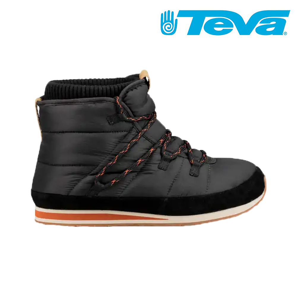 TEVA Ember Lace 男經典波羅麵包鞋 中筒 黑