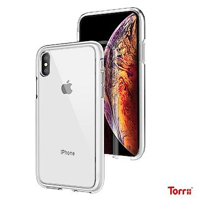 Torrii iPhone Xs Max 9H玻璃氣囊保護殼