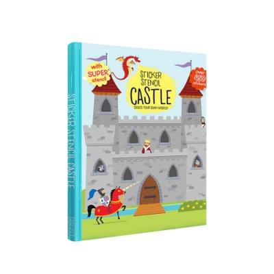 【Godmom】靜電貼紙書-城堡軍事家Castle