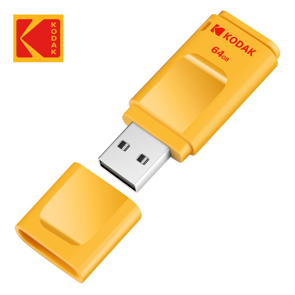 【Kodak】USB3.1 64GB 帽蓋式隨身碟 K233