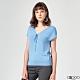 G2000素面短袖針織衫-藍色 product thumbnail 1