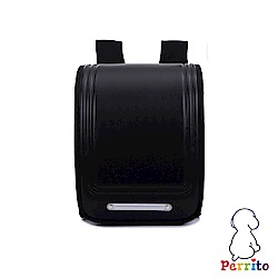 Perrito 貝瑞童「日本學園」核心護脊兒童書包-黑色