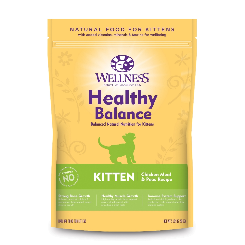 Wellness 健康均衡 幼貓 聰明照護食譜 5磅