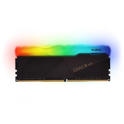 KLEVV 科賦 CRAS X RGB DDR4 3200 8G 桌上型電競超頻記憶體