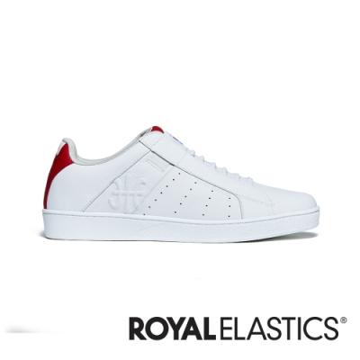 ROYAL ELASTICS Icon Genesis 紅白真皮運動休閒鞋 (女) 91902-001