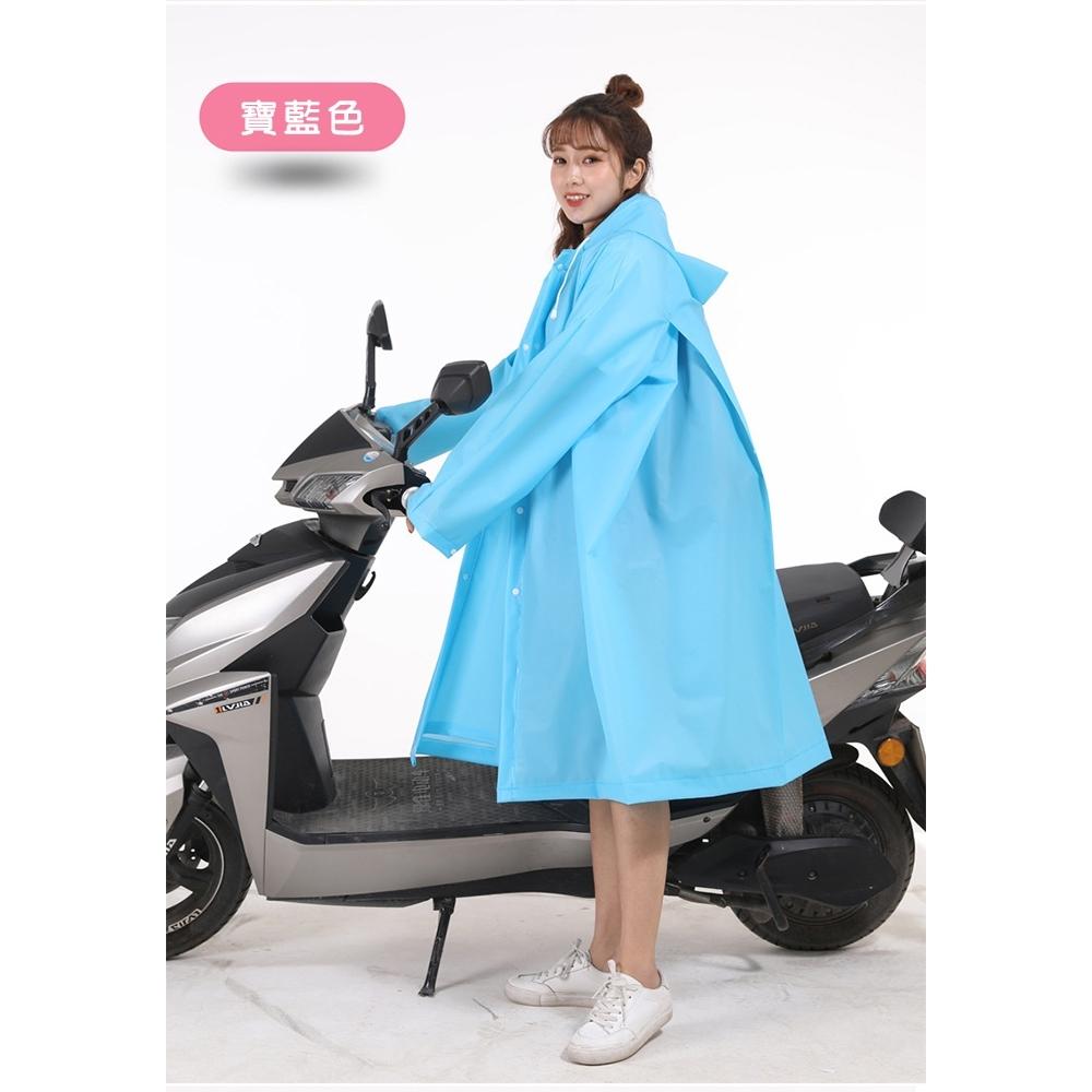 【KISSDIAMOND】EVA環保雙門襟大背包雨衣(多種穿法/4色M-XL/KD-2550) product image 1