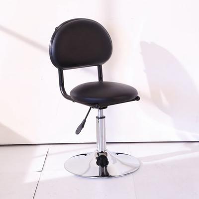 BuyJM 亞當皮面靠背圓座升降電腦椅/吧台椅40x40x75公分