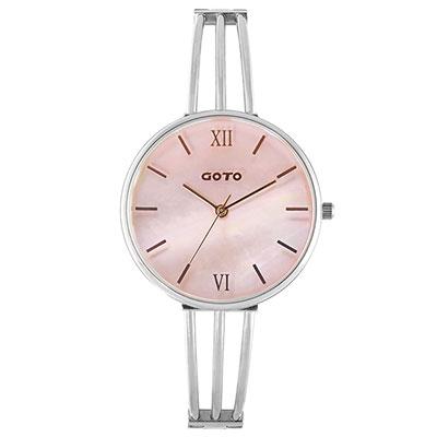 GOTO Marine 海洋系列時尚手錶-粉貝/33mm