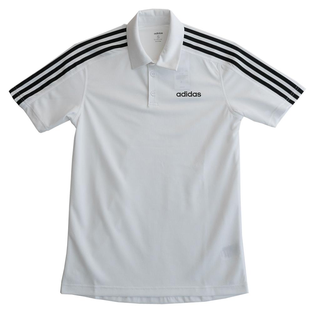 Adidas 愛迪達 D2M 3S Polo--男