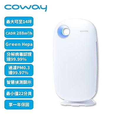 Coway 10-14坪 加護抗敏型空氣清淨機 AP-1009CH 白色