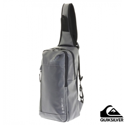 【QUIKSILVER】BLOCK ONE SHOULDER BAG 防潑水單肩後背包 灰