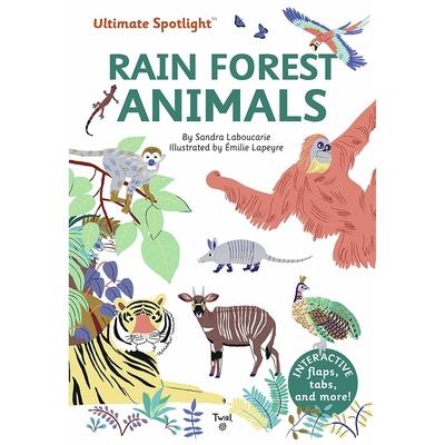 Ultimate Spotlight:Rain Forest Animals 熱帶雨林動物翻頁推拉書