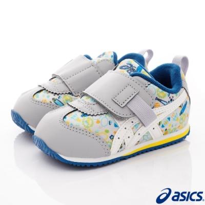 asics競速童鞋 童趣機能鞋款 14A031-020灰(中小童段)