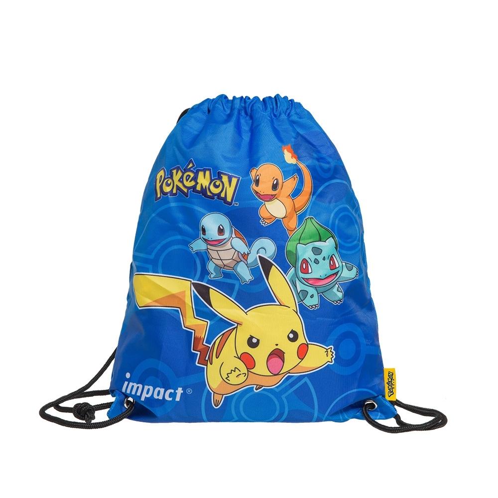 【IMPACT】寶可夢束口袋-藍色 IMPKML03RB