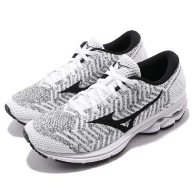 Mizuno 慢跑鞋 Waveknit R2 運動休閒 女鞋