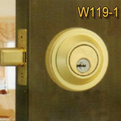 WACH 花旗門鎖 W103銀  W1191金 輔助鎖 鎖閂60mm 卡霸鎖