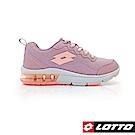 LOTTO 義大利 女 FLUX 避震氣墊跑鞋  (粉)