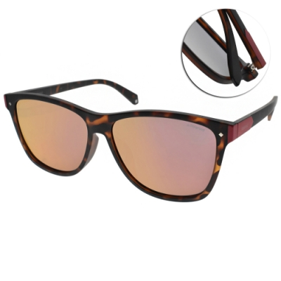 Polaroid 水銀偏光太陽眼鏡 潮流酷炫款/霧琥珀 #PLD6035FS N9POZ