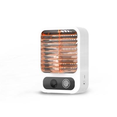 ANTIAN 桌面空調噴霧水冷風扇 USB充電式冷扇 迷你加濕空調扇 三檔調節 強勁風力 無線靜音水氧小風扇