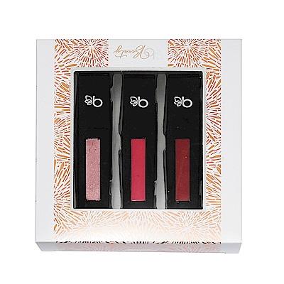 Belk Beauty 美國品牌 粉色系液態唇膏禮盒(三色組)
