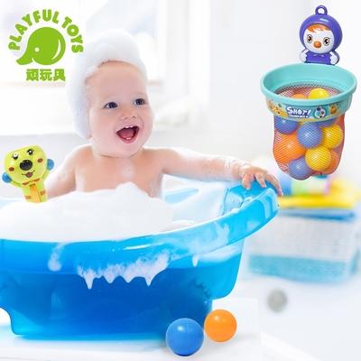 Playful Toys 頑玩具 彈射投籃組(寶寶洗澡玩具)