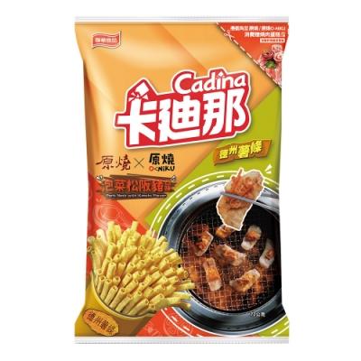 卡迪那 德州薯條泡菜松阪豬口味(72g)