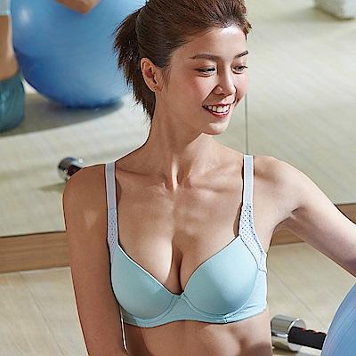 蕾黛絲-LadieSport好運動-Level1 輕鋼圈內衣D-E罩杯 有氧綠