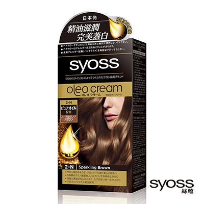 syoss 絲蘊 精油養護染髮系列 2N 耀眼星鑽棕