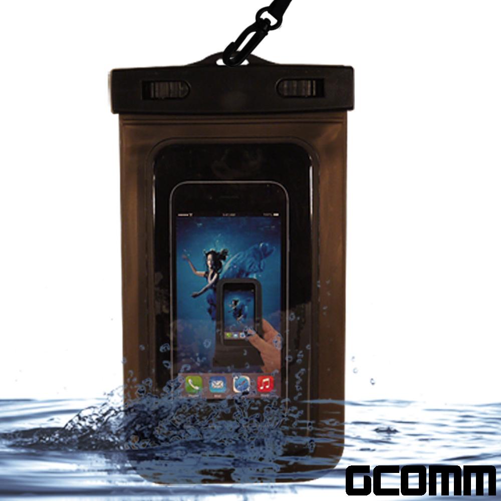 GCOMM SPORT IPX8 雙扣鎖高規格手機防水袋 5.7吋以下通用