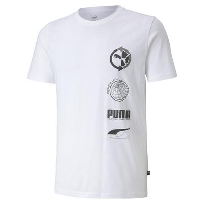 【PUMA官方旗艦】基本系列Puma Worldwide短袖T恤 男性 58471302