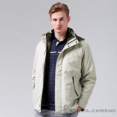 ROBERTA諾貝達 禦寒必備 可拆二件式背心夾克外套 米白
