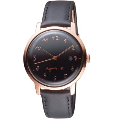 agnes b. 30週年紀念限定手錶(VJ32-KEF0C BG8010X1)