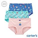 Carter's台灣總代理 童話城堡3件組三角褲