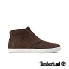 Timberland 男款深棕色磨砂革休閒鞋|A1Z8W