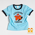 【LOVEDO-艾唯多童裝】衝浪海星 短袖T恤 (藍)
