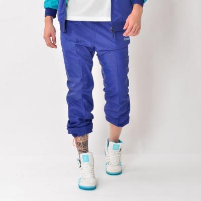 【FIVE UP】男款防潑風衣長褲-藍
