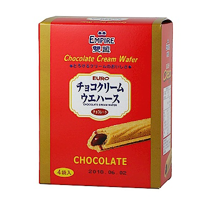 雙盟 巧克力酥棒 (100g)